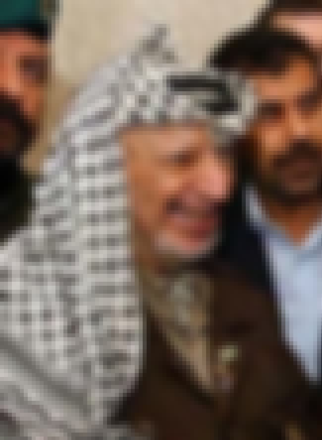 Yasser Arafat is listed (or ranked) 2 on the list List of Famous Rebels