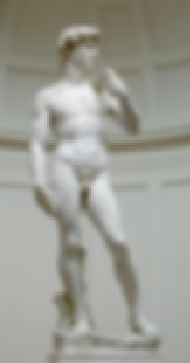 David is listed (or ranked) 3 on the list Famous Italian Renaissance Sculptures