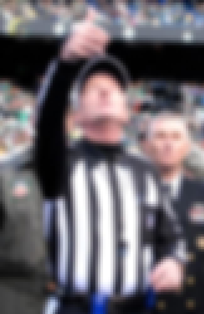 Bill Carollo is listed (or ranked) 6 on the list Famous Male American Football Officials