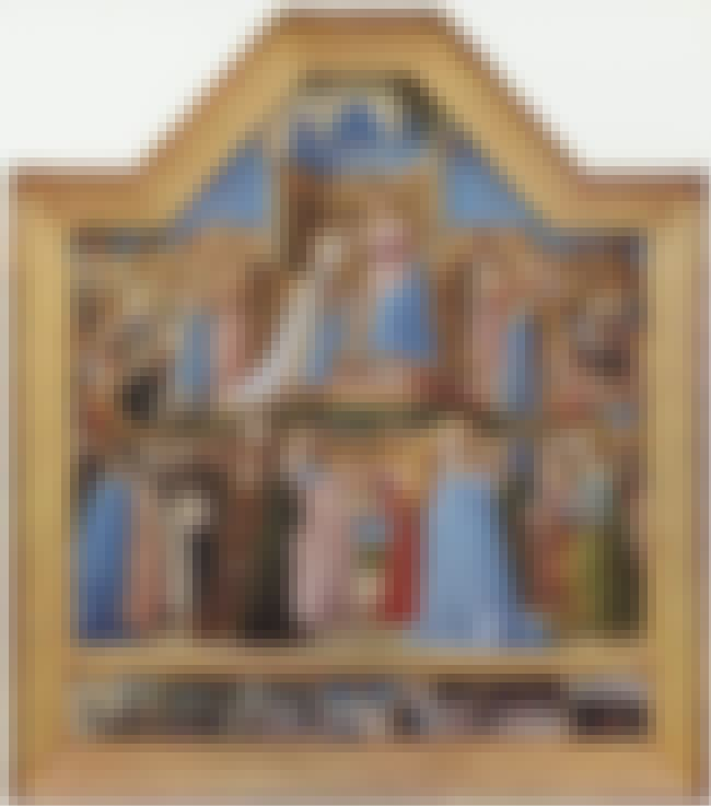 Coronation of the Virgin is listed (or ranked) 5 on the list Famous Renaissance Paintings