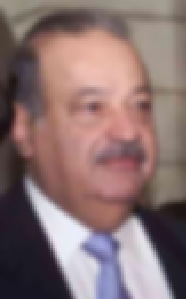 Carlos Slim is listed (or ranked) 7 on the list Famous People Born in 1940