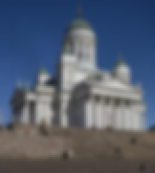Helsinki Cathedral is listed (or ranked) 1 on the list List of Carl Ludvig Engel Architecture