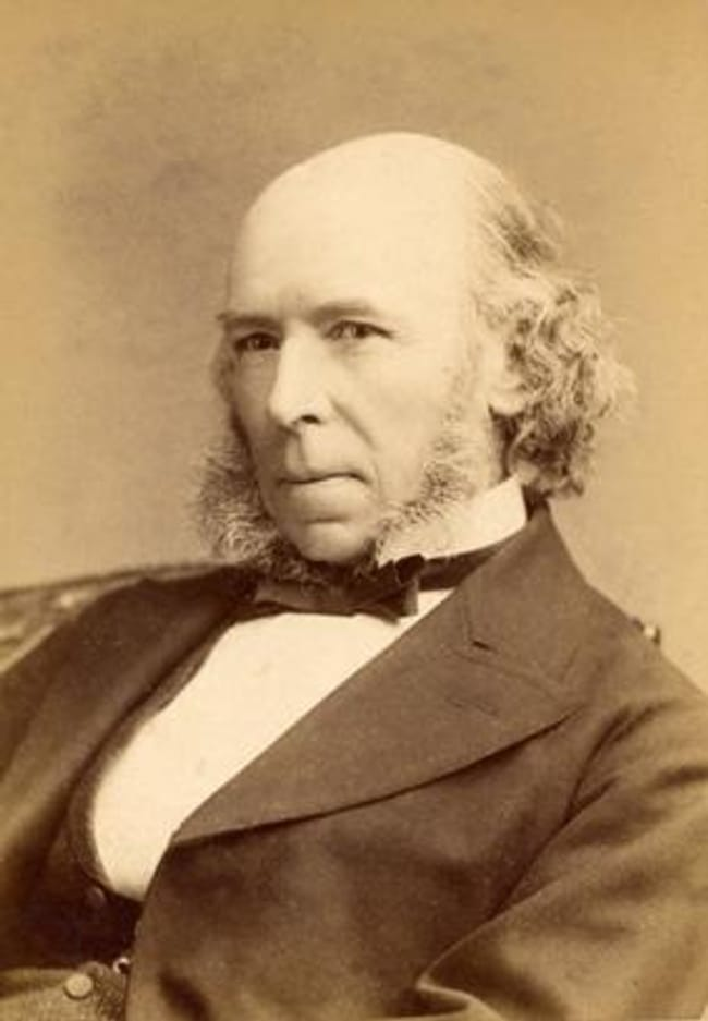 Herbert Spencer is listed (or ranked) 13 on the list 16 Famous People Who Probably Died as Virgins