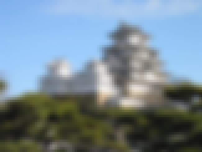 Himeji Castle is listed (or ranked) 6 on the list 20 Greatest Works of Architecture Throughout History