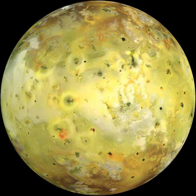 Io is listed (or ranked) 3 on the list Places in the Solar System Where Your Death Would Be Most Horrific