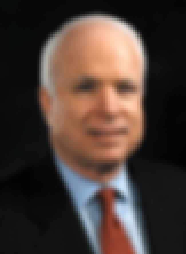 John McCain is listed (or ranked) 8 on the list Meritorious Service Medal Winners List
