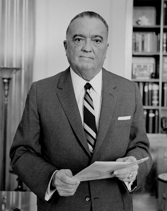 J. Edgar Hoover is listed (or ranked) 7 on the list 16 Famous People Who Probably Died as Virgins