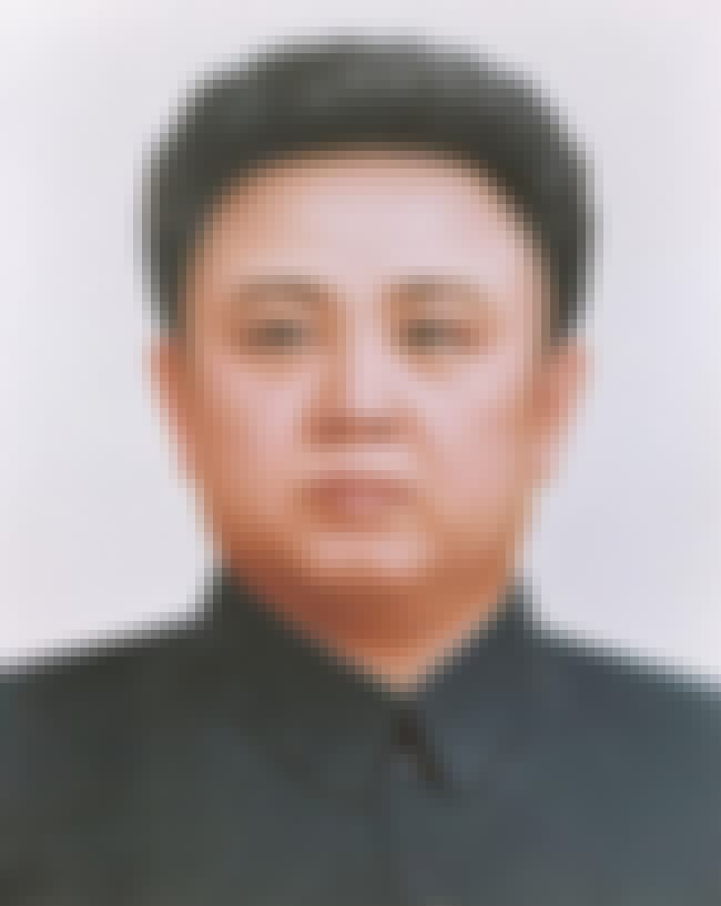 Kim Jong-il is listed (or ranked) 6 on the list List of Famous Dictators