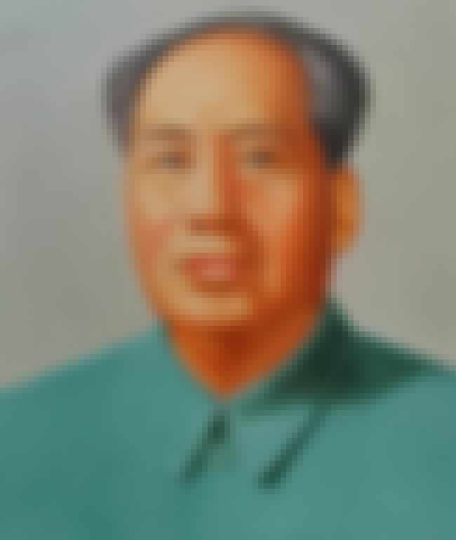 Mao Zedong is listed (or ranked) 3 on the list List of Famous Dictators