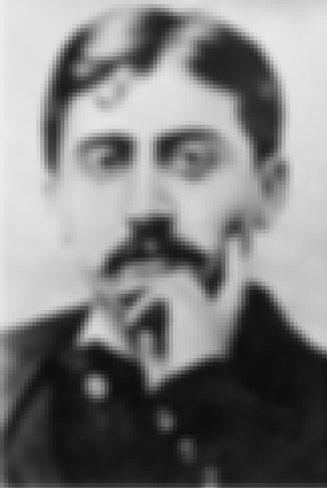 Marcel Proust is listed (or ranked) 3 on the list Famous Male Librarians