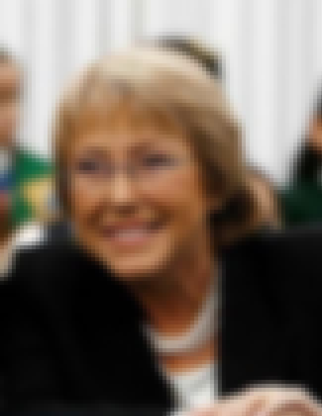 Michelle Bachelet is listed (or ranked) 6 on the list Famous Female Doctors