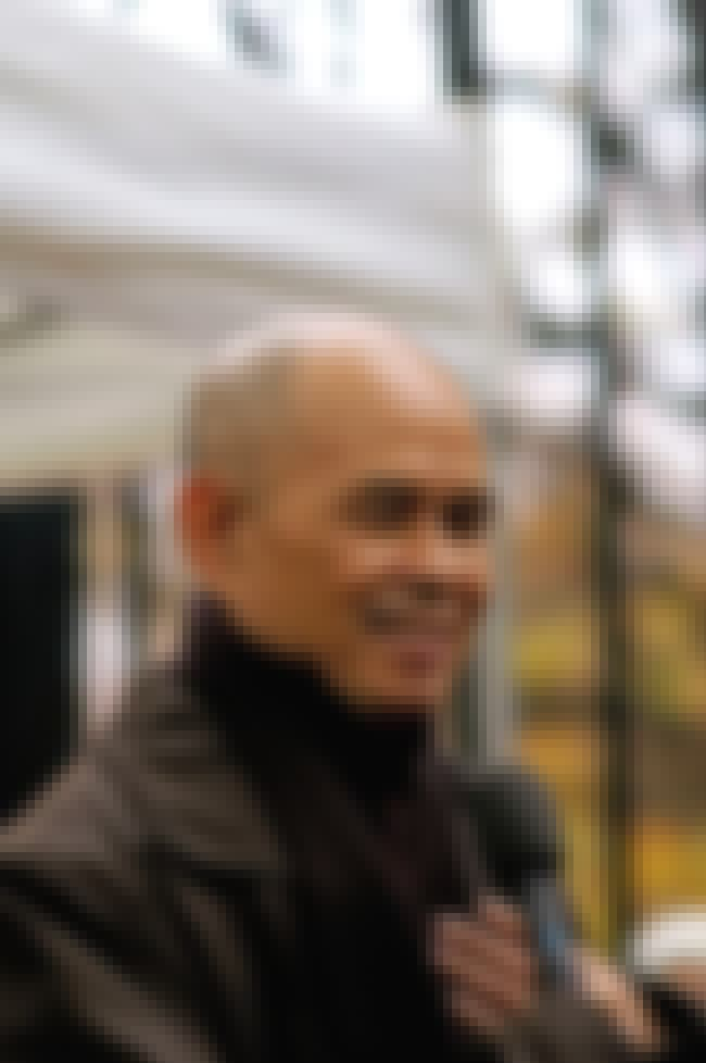 Nhat Hanh is listed (or ranked) 2 on the list List of Famous Monks