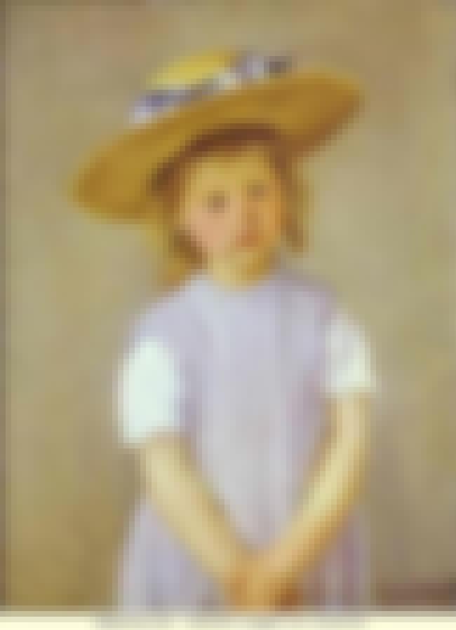 Child in a Straw Hat is listed (or ranked) 7 on the list List of Famous Mary Cassatt Artwork
