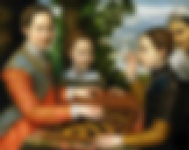 The Chess Game is listed (or ranked) 6 on the list List of Famous Sofonisba Anguissola Artwork