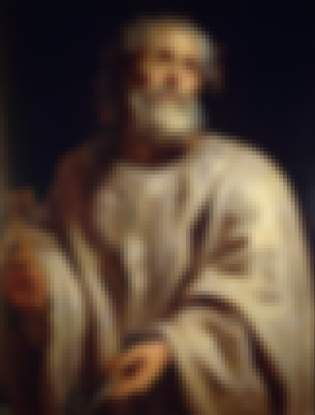 Saint Peter is listed (or ranked) 6 on the list List of Famous Popes
