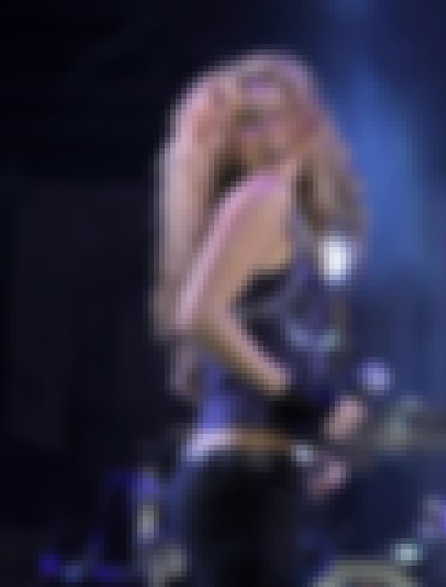 Shakira is listed (or ranked) 8 on the list The Sexiest Women in Rock