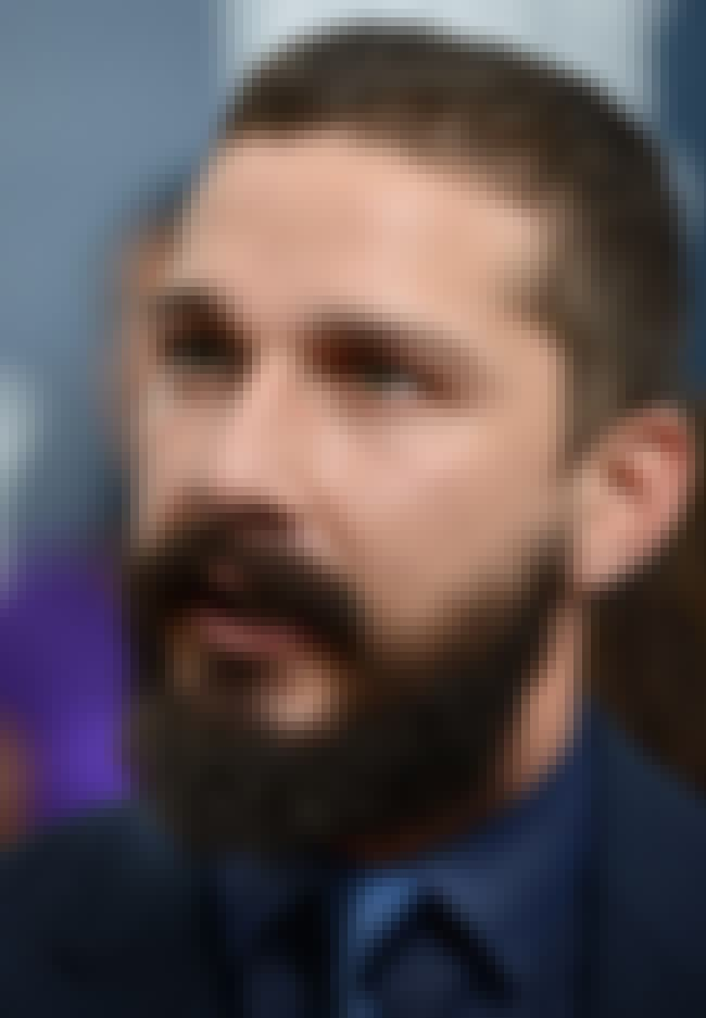 Shia LaBeouf is listed (or ranked) 3 on the list 24 Celebrities Who Are Rape Survivors