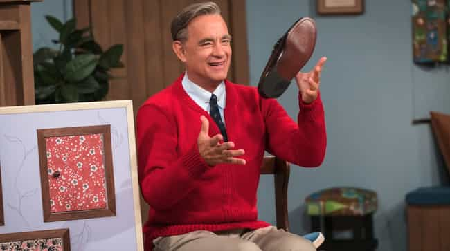 Tom Hanks is listed (or ranked) 1 on the list Facts You Never Knew About Mr. Rogers