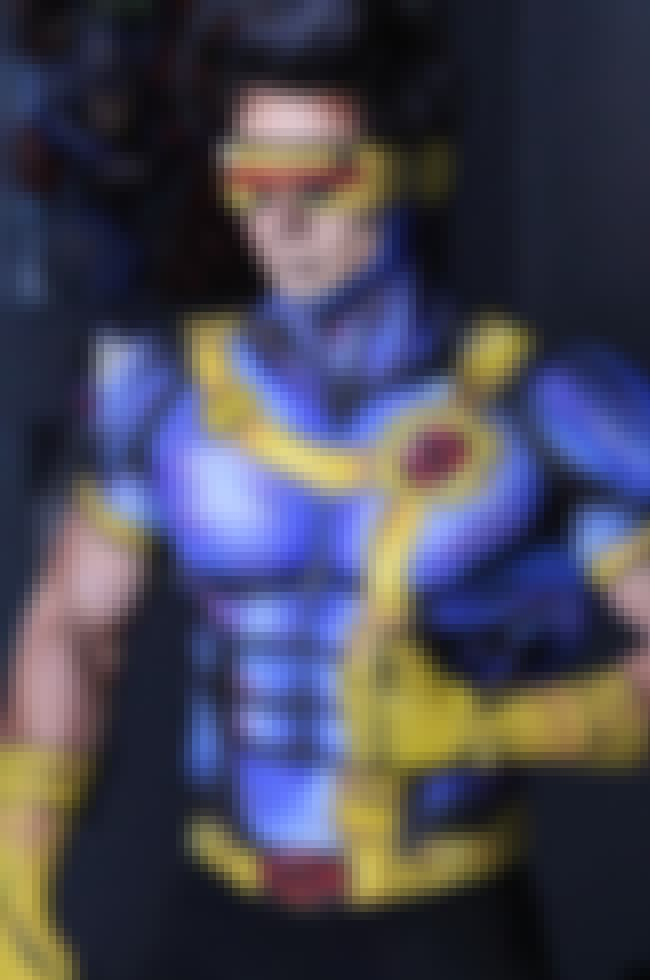 Cyclops is listed (or ranked) 2 on the list The Full List of X-Men Characters & Members