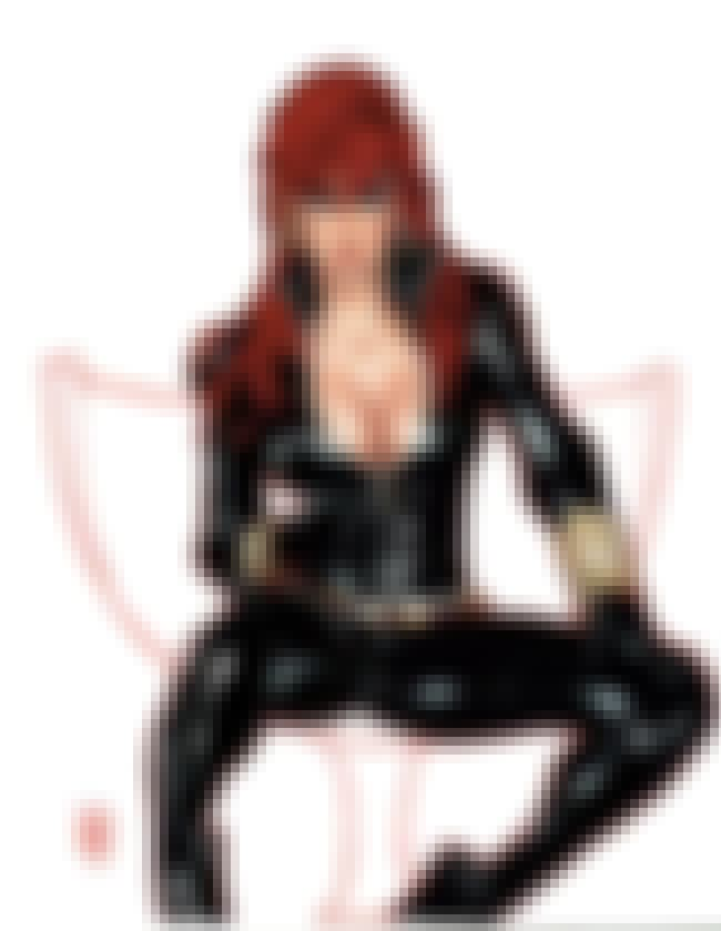 Black Widow is listed (or ranked) 4 on the list The Sexiest Female Comic Book Characters