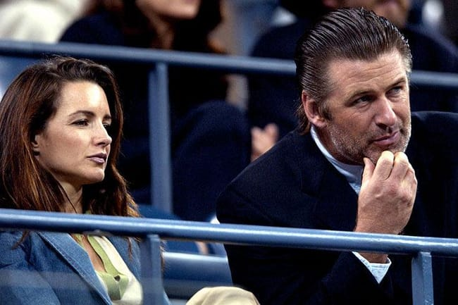 alec baldwin and Kristin Davis