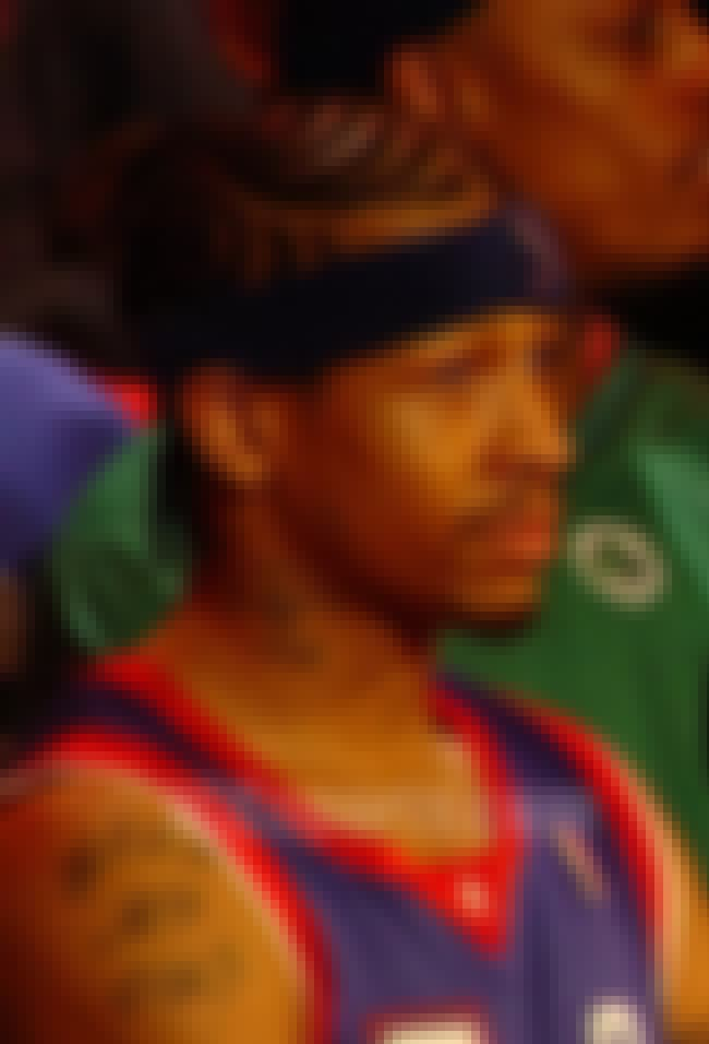 Allen Iverson is listed (or ranked) 5 on the list The Best NBA Players of the Decade
