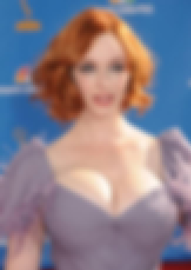 Christina Hendricks is listed (or ranked) 16 on the list The Best Supporting Actor and Actress In a 2012 TV Drama