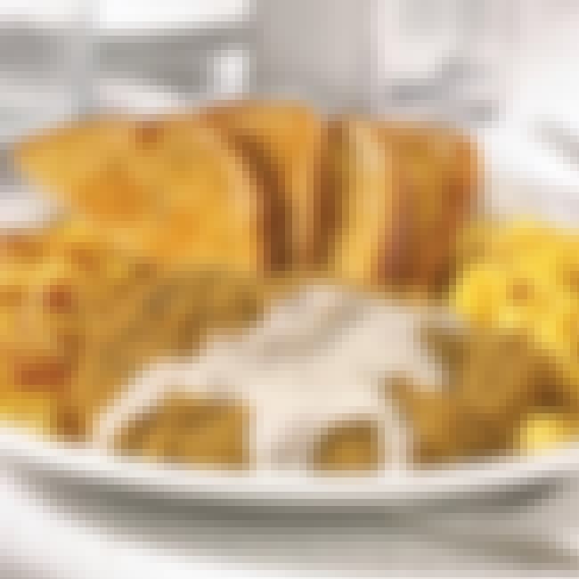 Chicken fried steak is listed (or ranked) 2 on the list Denny's Recipes