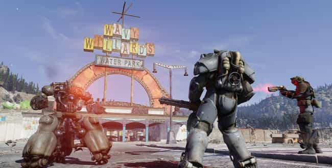 Fallout 76 is listed (or ranked) 1 on the list The Biggest Video Game Blunders Of The 2010s