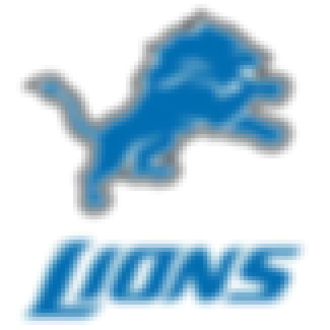 Detroit Lions is listed (or ranked) 8 on the list The Best Uniforms In The NFL