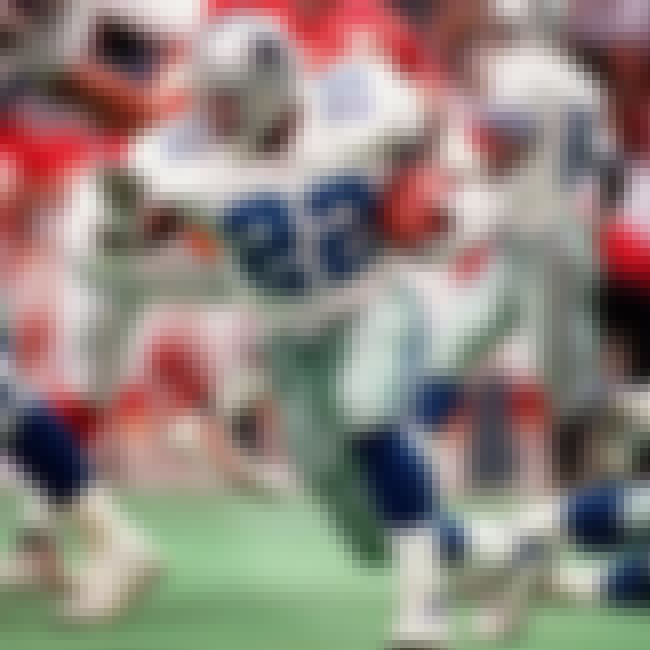 Emmitt Smith is listed (or ranked) 4 on the list The Top 25 Greatest Running Backs Of All Time