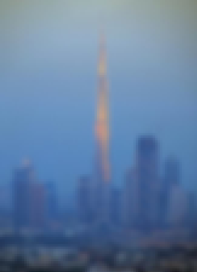Burj Khalifa is listed (or ranked) 3 on the list 20 Greatest Works of Architecture Throughout History