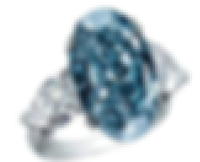 Chopard Blue Diamond Ring is listed (or ranked) 1 on the list The Most Expensive Rings