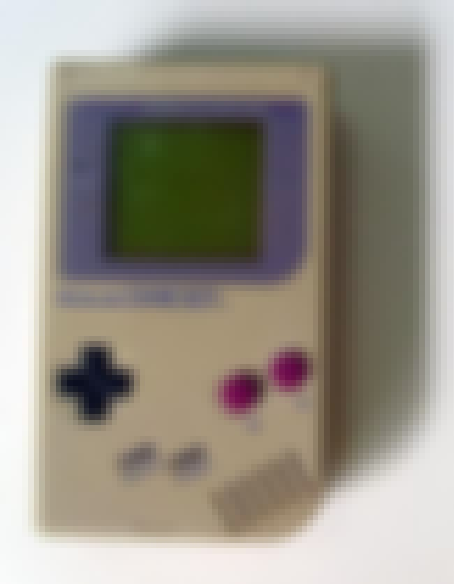 Game Boy is listed (or ranked) 5 on the list The Best Nintendo Systems
