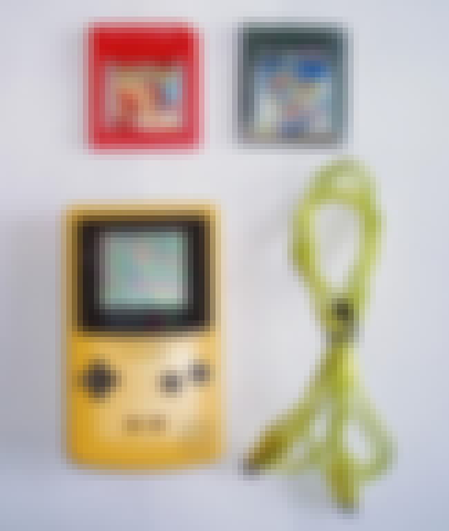 Game Boy Color is listed (or ranked) 6 on the list The Best Nintendo Systems