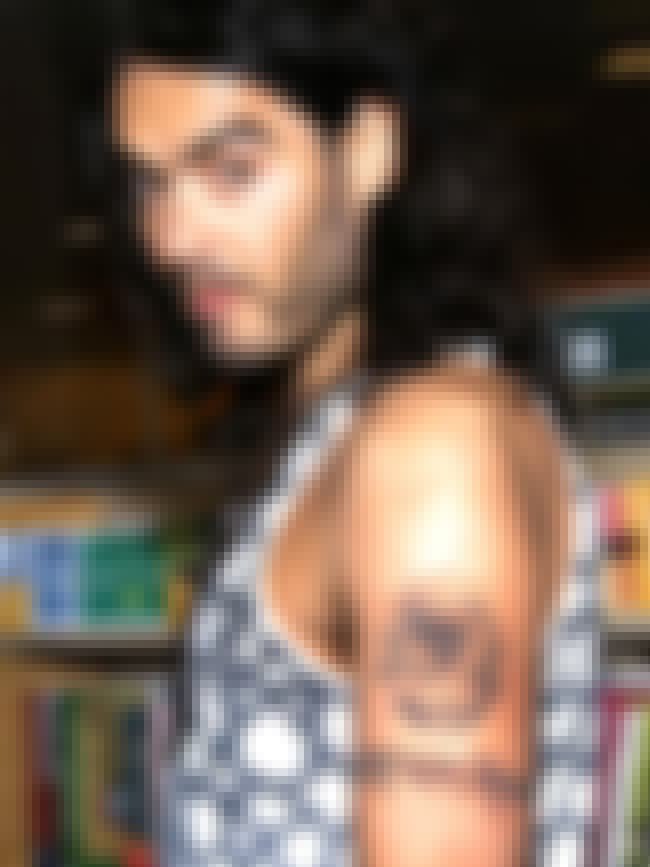 Eyeball is listed (or ranked) 5 on the list Russell Brand Tattoos