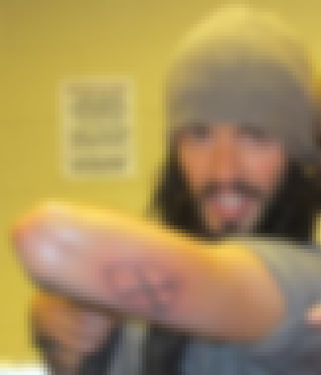 West Ham United Logo is listed (or ranked) 4 on the list Russell Brand Tattoos