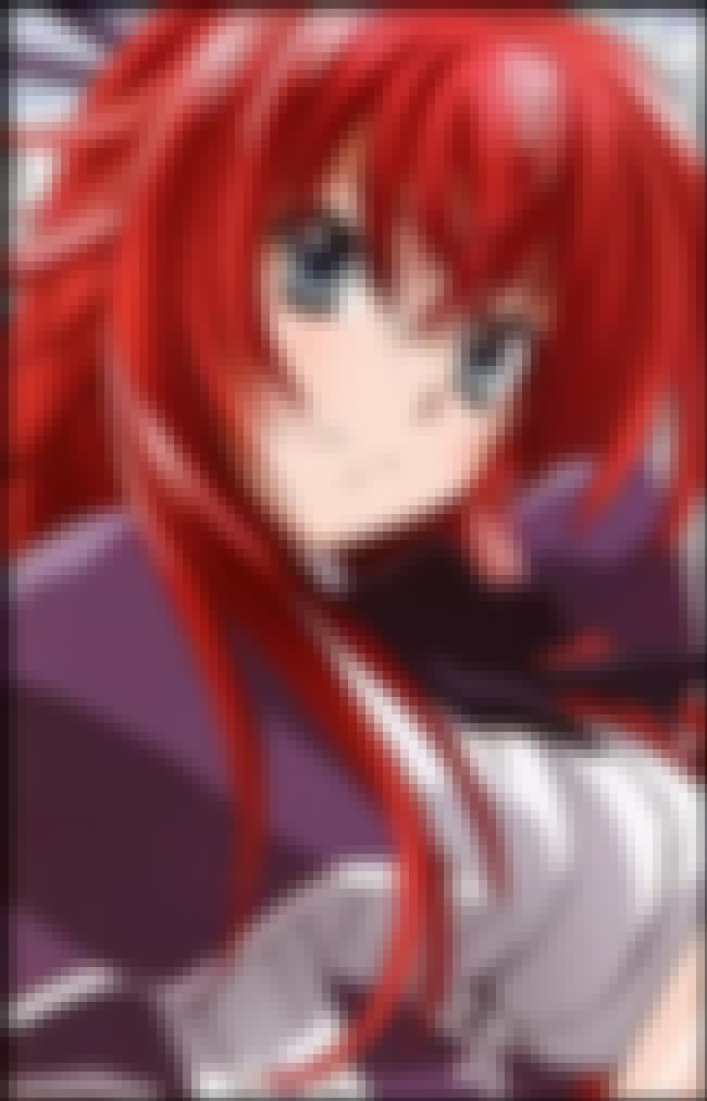 Rias Gremory is listed (or ranked) 5 on the list The Best Female Anime Characters
