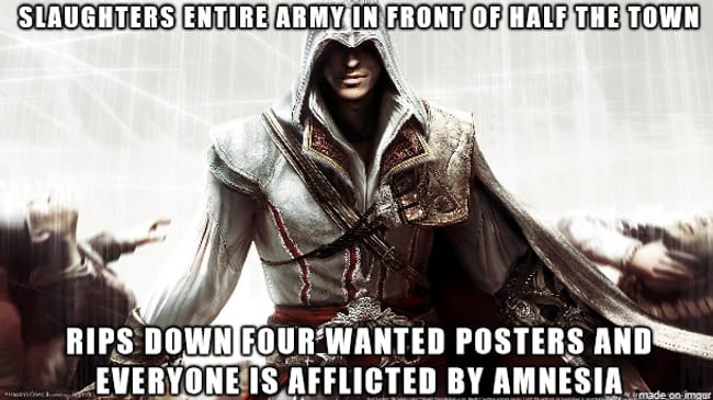 The Posters in Black is listed (or ranked) 10 on the list 101 Jokes Only Gamers Will Understand