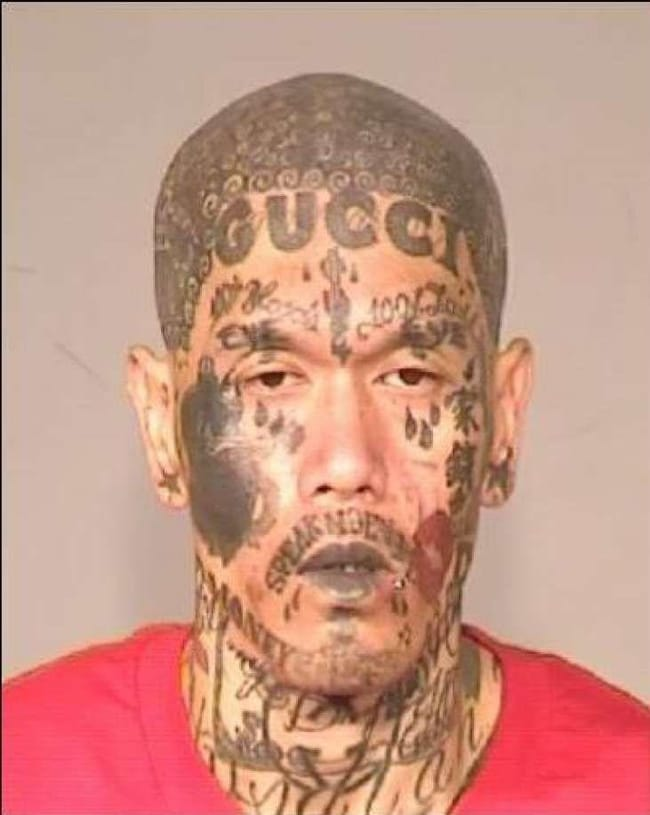 High Fashion, Low Standards is listed (or ranked) 6 on the list The Most Out-Of-Control Face Tattoos Captured By The Mugshot Camera