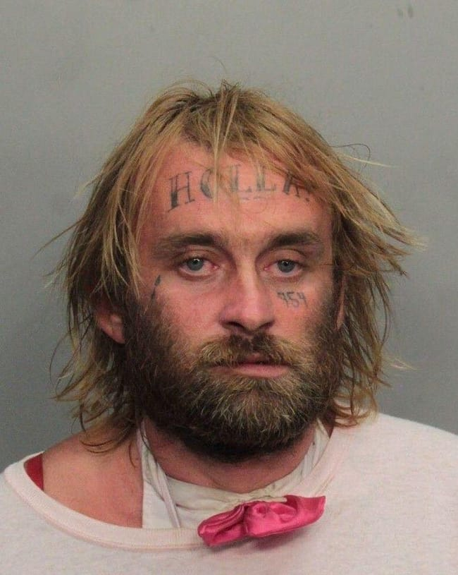 Happy Holla Days is listed (or ranked) 28 on the list The Most Out-Of-Control Face Tattoos Captured By The Mugshot Camera