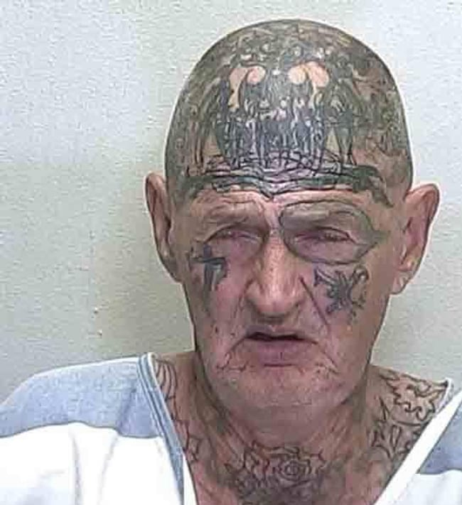 I Ink Therfore I Am is listed (or ranked) 9 on the list The Most Out-Of-Control Face Tattoos Captured By The Mugshot Camera