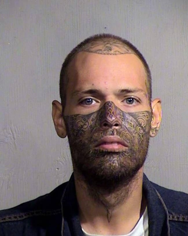 Half-And_Half is listed (or ranked) 19 on the list The Most Out-Of-Control Face Tattoos Captured By The Mugshot Camera