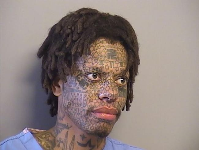 I'm Confused? is listed (or ranked) 10 on the list The Most Out-Of-Control Face Tattoos Captured By The Mugshot Camera