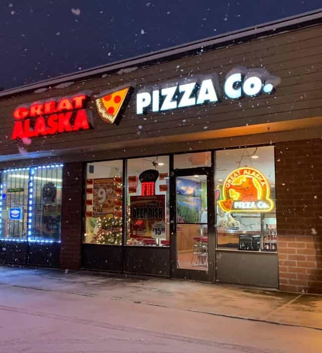 Alaska - Great Alaska Pi... is listed (or ranked) 2 on the list The Quintessential Local Fast Food Chain From Your State