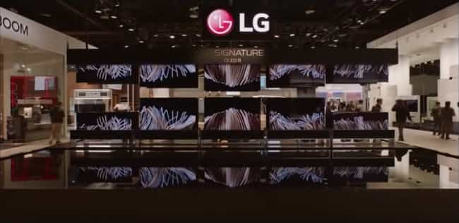 "LG's ""Rollable""... is listed (or ranked) 4 on the list The Most Buzzworthy Tech Unveiled at CES 2020"