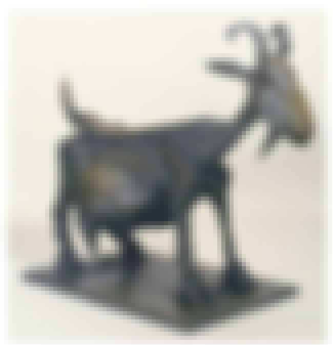 She-Goat is listed (or ranked) 4 on the list Famous Pablo Picasso Sculptures