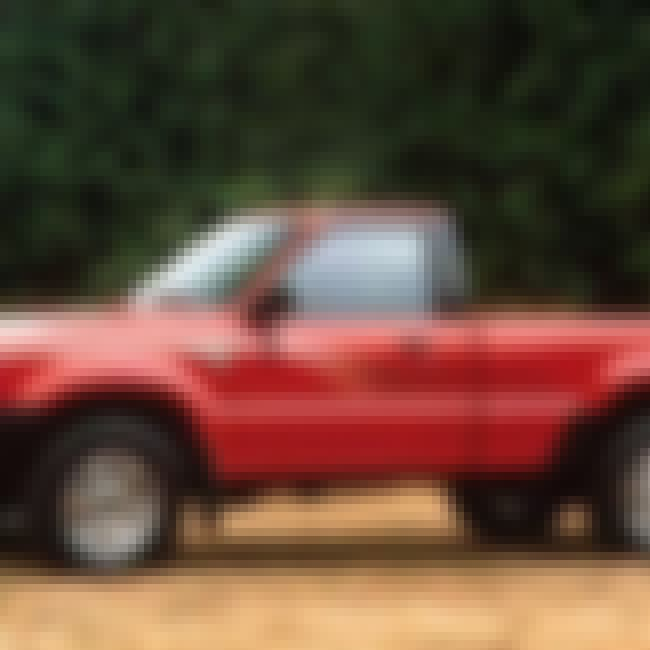 1990 Mazda B2600i Pickup truck is listed (or ranked) 8 on the list List of Popular Mazda Pickup trucks