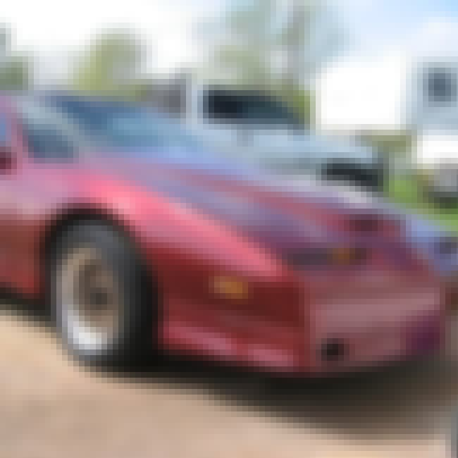 1987 Pontiac Firebird Trans Am is listed (or ranked) 8 on the list List of Popular Pontiac Firebirds