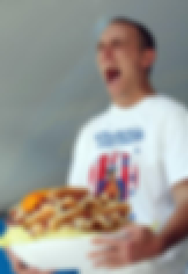 Joey Chestnut is listed (or ranked) 6 on the list 8 of History's Greatest Gluttons